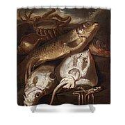 Fish Still Life Shower Curtain