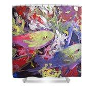 Fish Symphony  Shower Curtain
