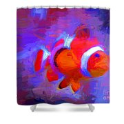 Fish Two Shower Curtain