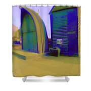 Fisher Houses Shower Curtain