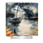 Fisher Of Men Shower Curtain