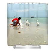Fisherboy Shower Curtain