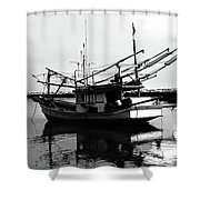 Fisherman's Boat Shower Curtain