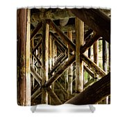 Fishermans Bridge Shower Curtain