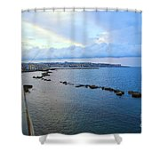 Fisherman's Delight In Sicily Shower Curtain