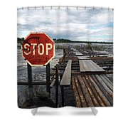 Fishermans Dock Shower Curtain