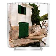 Fisherman's House Shower Curtain
