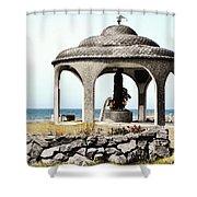 Fisherman's Memorial Shower Curtain