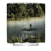 Fishermans Paradise  Shower Curtain