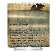 Fisherman's Prayer Shower Curtain
