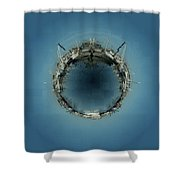Fishermans Terminal 5 Shower Curtain