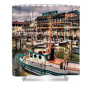 Fisherman's Wharf Shower Curtain