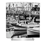 Fishermans Wharf Shower Curtain