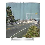 Fishermen At Southern Shower Curtain