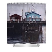 Fishermen Respite Shower Curtain