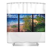 Fishermen's Paradise Shower Curtain