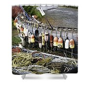 Fishermen's Supplies Shower Curtain