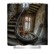 Fisheye Stairs Shower Curtain