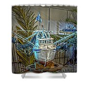 Fishing Boat Hdr 1 Shower Curtain