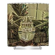 Fishing Boat Hdr 2 Shower Curtain