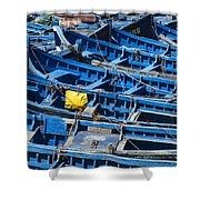 Fishing Boats In Morocco Shower Curtain