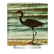 Fishing Day  Shower Curtain