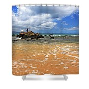 Fishing In Maui Shower Curtain
