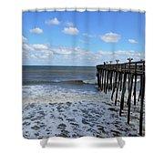 Fishing Pier 1 Shower Curtain