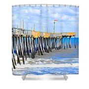 Fishing Pier 4 Shower Curtain