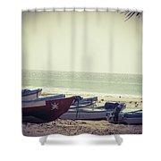 Fishing Season Shower Curtain