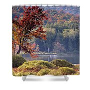 Fishing The Adirondacks Shower Curtain