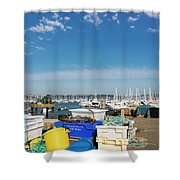 Fishing Things Shower Curtain