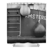 Fishing Vessel Shower Curtain