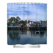Fishing Village Shower Curtain