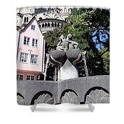 Fishmongers Fountain In Koln, Germany Shower Curtain