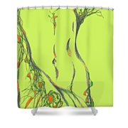 figure. 16 March, 2015 Shower Curtain