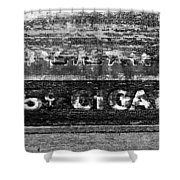 Five Cent Cigar Shower Curtain