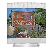 Five Cents Shower Curtain