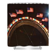 Five Flags Shower Curtain