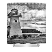Five Islands Lighthouse Shower Curtain