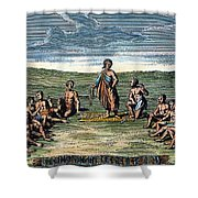 Five Nations: Meeting, C1570 Shower Curtain by Granger