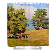 Five Oaks Shower Curtain