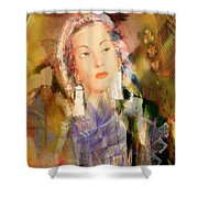 Five Octaves - Tribute To Yma Sumac Shower Curtain