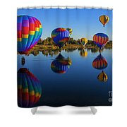 Five On The Water Shower Curtain