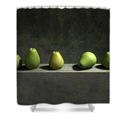 Five Pears Shower Curtain