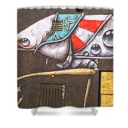 Five Two Five Shower Curtain