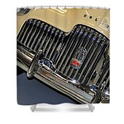Fj Holden - Front End - Grill Shower Curtain
