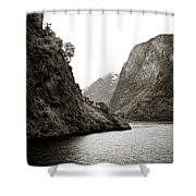 Fjord Beauty Shower Curtain