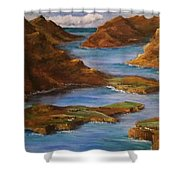 Fjords Of Norwary Shower Curtain
