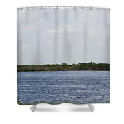 Fla Everglades Shower Curtain